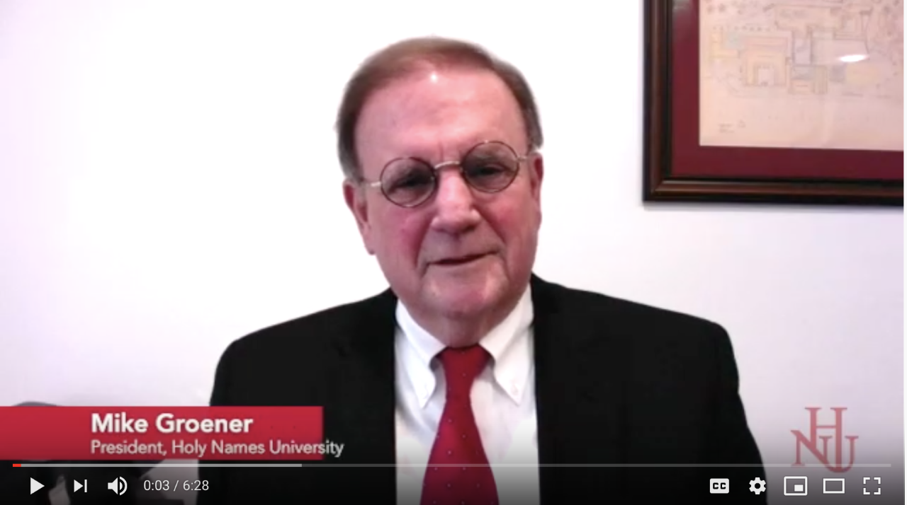 President Mike Groener Video